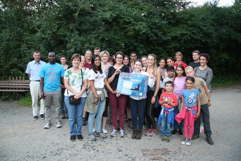 CMS Family Bat Night in Bonn
