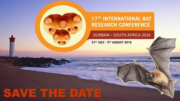 17th International Bat Research Conference 2016 Unepeurobats