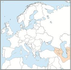 Distribution map of Barbastella darjelingensis