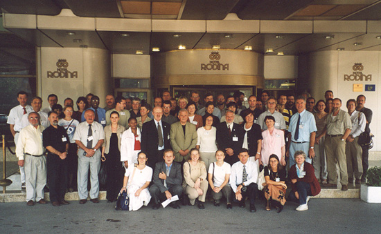 Participants of the 4th Meeting of the Parties in Sofia, Bulgaria, 22 - 24th September 2004.